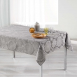 Nappe rectangle 140 x 300 cm jacquard rose des vents Gris, image n° 1