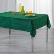 Nappe rectangle 140 x 300 cm polyester applique filiane Emeraude, image n° 1