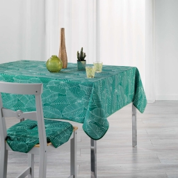 Nappe rectangle 150 x 200 cm polyester imprime gatsby Vert
