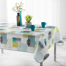 nappe rectangle 150 x 240 cm polyester imprime boracai