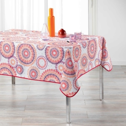 nappe rectangle 150 x 240 cm polyester imprime cadix