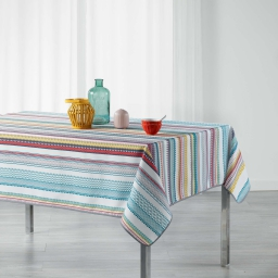 nappe rectangle 150 x 240 cm polyester imprime caly