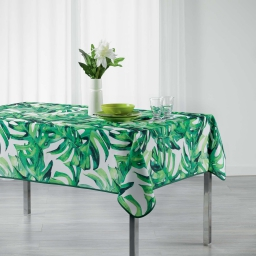 nappe rectangle 150 x 240 cm polyester imprime carvenao