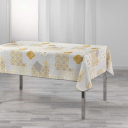 nappe rectangle 150 x 240 cm polyester imprime festine