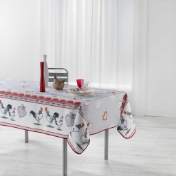 nappe rectangle 150 x 240 cm polyester imprime gallinou
