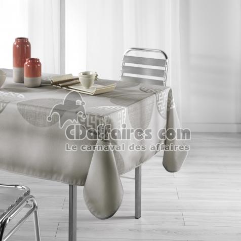 Nappe rectangle 150 x 240 cm polyester imprime kosmo Lin