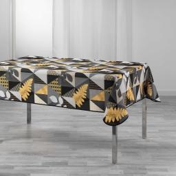 nappe rectangle 150 x 240 cm polyester imprime loelia