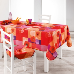 nappe rectangle 150 x 240 cm polyester imprime lucia