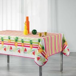 nappe rectangle 150 x 240 cm polyester imprime pastequa