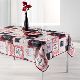 nappe rectangle 150 x 240 cm polyester imprime popotte