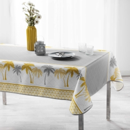 nappe rectangle 150 x 240 cm polyester imprime pure line