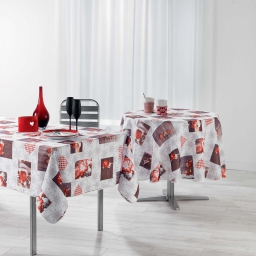 nappe rectangle 150 x 240 cm polyester photoprint floconia
