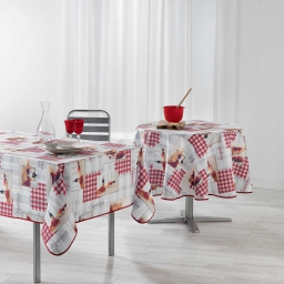 nappe rectangle 150 x 240 cm polyester photoprint grand cru