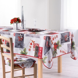 nappe rectangle 150 x 240 cm polyester photoprint norvegia