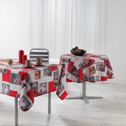 nappe rectangle 150 x 240 cm polyester photoprint sweet winter