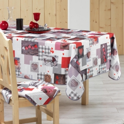 nappe rectangle 150 x 240 cm polyester photoprint valentine
