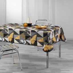 nappe rectangle 150 x 300 cm polyester imprime loelia