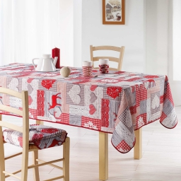 nappe rectangle 150 x 300 cm polyester imprime scandy