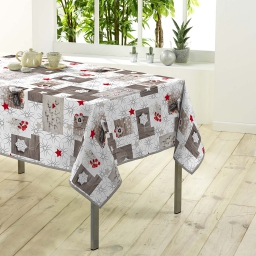 nappe rectangle 150 x 300 cm polyester photoprint giboulee