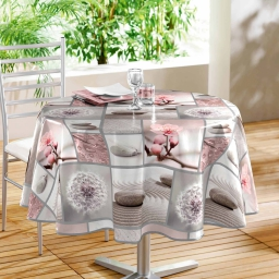 nappe ronde (0) 160 cm pvc photoprint inspiration