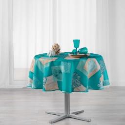 nappe ronde (0) 180 cm polyester imprime arborela