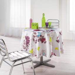 nappe ronde (0) 180 cm polyester imprime azura