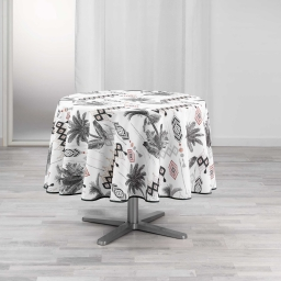 nappe ronde (0) 180 cm polyester imprime cocoty