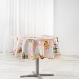 nappe ronde (0) 180 cm polyester imprime delicia