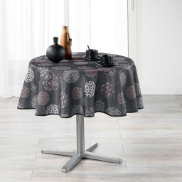 nappe ronde (0) 180 cm polyester imprime divina