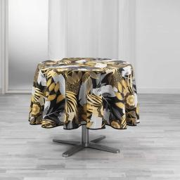 nappe ronde (0) 180 cm polyester imprime hannae