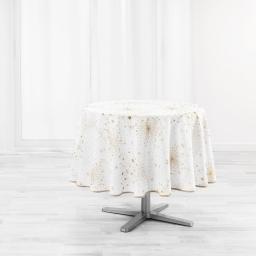 nappe ronde (0) 180 cm polyester imprime illumination