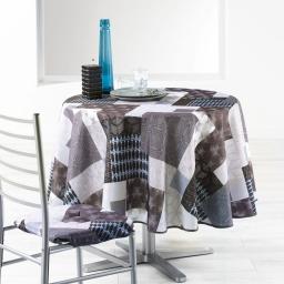 nappe ronde (0) 180 cm polyester imprime lanix