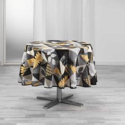 nappe ronde (0) 180 cm polyester imprime loelia