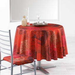 nappe ronde (0) 180 cm polyester imprime roxane