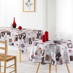 nappe ronde (0) 180 cm polyester photoprint giboulee