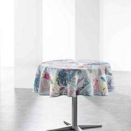 nappe ronde (0) 180 cm polyester photoprint tropik