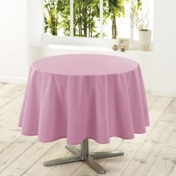 Nappe ronde (0) 180 cm polyester uni essentiel Dragee