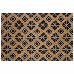 paillasson rectangle 40 x 60 cm coco imprime graphic home
