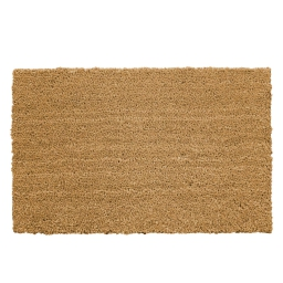 Paillasson rectangle 40 x 60 cm coco uni paco Naturel