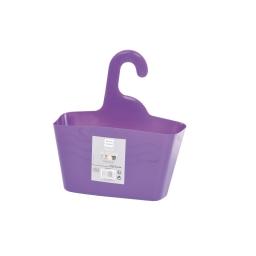 Panier de douche a suspendre plastique  douceur d'interieur theme vitamine Prune