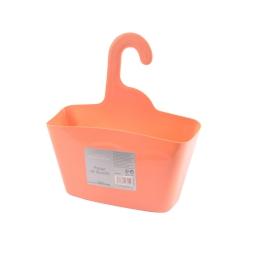 Panier de douche a suspendre plastique vitamine Corail