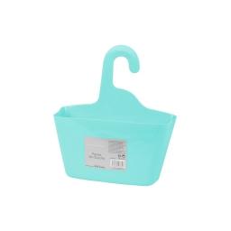 panier de douche a suspendre plastique vitamine vert menthe