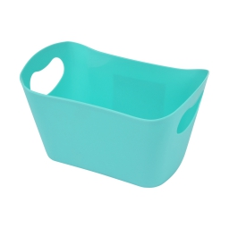 paniere rangement plastique l22.5*p14.5*h13cm vitamine vert menthe