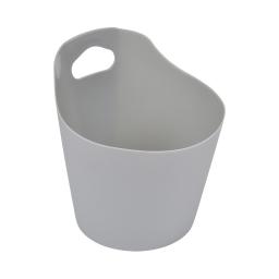paniere ronde plastique ø14.5cm vitamine gris clair
