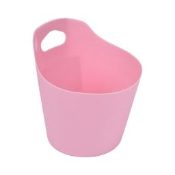 paniere ronde plastique ø14.5cm vitamine rose poudré