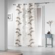 Panneau a oeillets 140 x 240 cm organza devore naturiance Choco, image n° 1