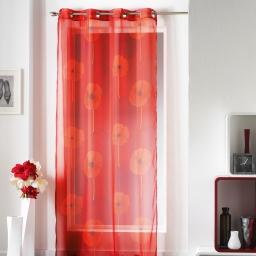 Panneau a oeillets 140 x 240 cm voile imprime transfert castel Rouge