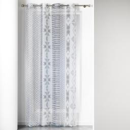 panneau a oeillets 140 x 240 cm voile imprime transfert chamane
