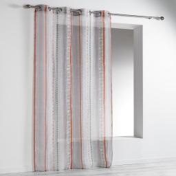 panneau a oeillets 140 x 240 cm voile imprime transfert merano