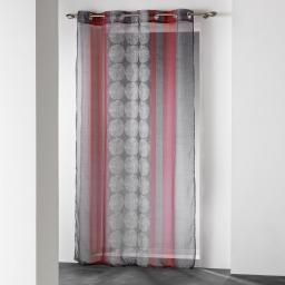 panneau a oeillets 140 x 240 cm voile imprime transfert nelio